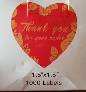 FREE.  Thank You , Labels 1000